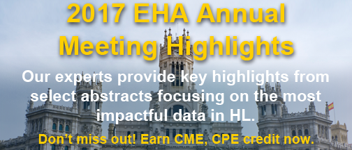 EHA 2017 Annual Meeting Highlights