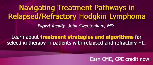 Navigating Treatment Pathways in Relapsed/Refractory Hodgkin Lymphoma