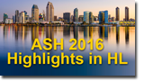 ASH 2016 Annual Meeting Highlights in Hodgkin Lymphoma